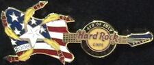 Hard Rock Cafe CARDIFF 2008 4th of July PIN Flag GUITAR Rockets LE 50 HRC #44551