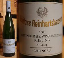 2003er Hattenheimer Wisselbrunnen - Riesling Auslese - Schloss Reinhartshausen