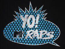 Yo! MTV Raps - logo t-shirt - women's XL - Fab 5 Freddy - Doctor Dre - Ed Lover