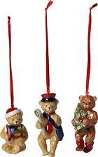 Villeroy & Boch Ornamente-set Teddy 3-tlg. Nostalgic Ornaments