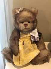 Charlie Bears Goldilocks Mummy Bear NWT