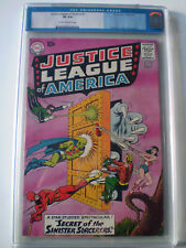 Justice league of America #2 CGC Old Label 8.0