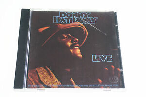 Donny Hathaway Live 075678027222 CD A14612