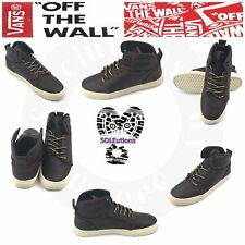 VANS OTW Alomar (Monogram) Leather Boot Brown Turtledove M8.5