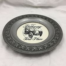 1988 PATHWAY AUTO SHOW FIRST PLACE AWARD-PEWTER METAL PLATE-CANTON, OHIO-10.5""