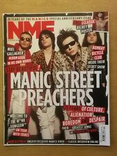 NME OCTOBER 8 2011 MANIC STREET PREACHERS NOEL GALLAGHER BOMBAY BICYCLE CLUB