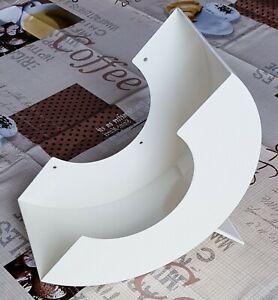 Tupperware großer Deckel-Sammler Deckelsammler Cremeweiß D56