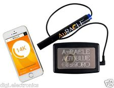 Mobile Gold & Platinum Purity Tester Checker AuRACLE AGT Blue Bluetooth GemOro