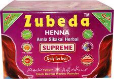 Zubeda Henna Supreme x 12 packets full Box Brand New