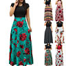 Women Floral Maxi Dress Prom Evening Party Summer Beach Casual Long Sundress