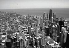 CHICAGO VIEW FROM SEARS TOWER A3 POSTER ART PRINT YF106