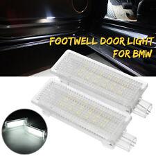 LED Footwell Door Interior Light For BMW 1 3 4 5 X Z Series E60 E82 E90 F10 F20