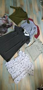 Lot XS tendance, Jennyfer, tee shirt et robe