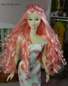 Waitress Silkstone Barbie Doll~2006~NUDE~Reroot~Repaint