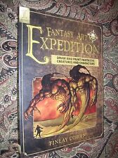 Fantasy Art Expedition Finlay Cowan, Draw & Paint Fantastic Creatures; First Ed.