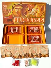 Vintage 1976 Six Million Dollar Man BIONIC CRISIS Parker Brothers Board Game gs