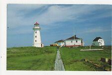 Machias Seal Island Light USA Old Postcard 351a ^
