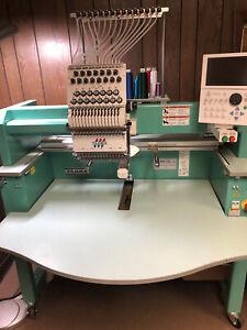 used tajima embroidery machine