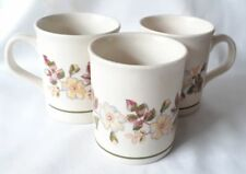 M&S Autumn Leaves Mugs x 3  - Marks and Spencer