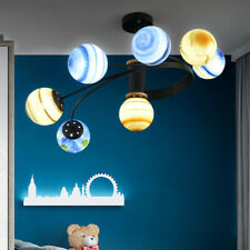 Modern Branch Chandelier Planet Pendant Lighting Deco Ceiling Light Fixtures