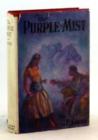 G E Locke 1924 The Purple Mist Gothic Murder Mystery Hardcover w/Dustjacket
