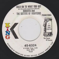 ROBERTA & SISTERS OF RIGHTEOUS {70s Funk} HOLD ON TO WHAT YOU GOT ♫hear promo