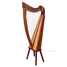 22 String Trinity Harp Rosewood, Celtic Irish harp, Irish lever Harp