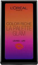 L'Oréal Cosmetics Colour Riche La Palette Glam | In built Mirror | 6 Shades