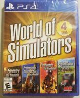 World of Simulators PlayStation 4 PS4 Brand New Sealed