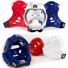 Taekwondo Headgear Mooto Head Protectors Wide Vision Sweat Absorber WTF TKD HKD