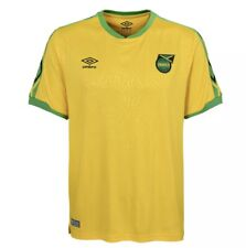 Umbro Men's Jamaica National Team Home Soccer Jersey, Yellow Size XL NEW NWT