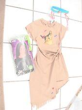 girls costume Disney Store Pocahontas 8/10 dress wig and headband USA made