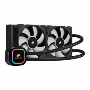 Corsair iCUE H100i RGB PRO XT 240mm RGB Liquid CPU Cooler 2 x 12cm PWM Fans