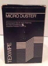 Texwipe TX600 Micro Duster Compressed Gas System Nozzle and Canister New Old Stk