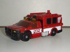 TRANSFORMERS POWER CORE COMBINERS SMOLDER Commander Class 2010 Fire Rescue truck
