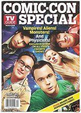 2010 TV Guide Comic Con 4 Cover Set Big Bang Fringe Smallville Vampire Diaries!