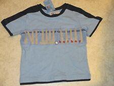 Baseball Bat Boy Shirt Faded Glory Blue size 4T NWT
