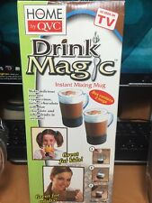 2 Drink Magic Instant Mixing Mug As Seen on TV NEW  In the Home by QVC