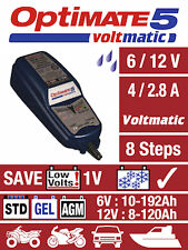 Optimate 5 Voltmatic 6v and 12v Charger Battery Charger Tester Maintainer 2018