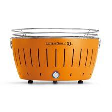 LotusGrill XL Mandarinenorgange G-OR-435 der rauchfreie Holzkohlegrill Grill