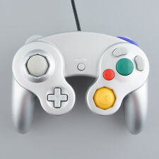 Hot Wired Controller Gamepad For Nintendo Wii GameCube GC NGC Platinum Silver