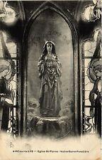CPA AIRE sur la LYS Eglise St Pierre-Notre Dame Panetiére (414471)