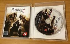THE DARKNESS II ( 2 ) LIMITED EDITION PLAYSTATION 3, PS3 AUSTRALIAN MA15+ GAME