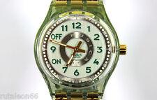 SWATCH original Swiss made MUSICALL SLM107 quartz watch New old stock