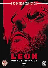 Leon Director's Cut 1994 Natalie Portman, Gary Oldman, Peter Appel, NEW R2 DVD