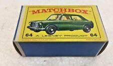 Vintage Matchbox 64 M.G 1100 Lesney Product