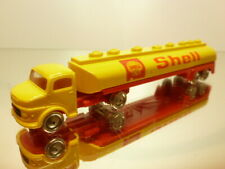 LEGO MERCEDES BENZ TRUCK + TANKER - SHELL - L14.5cm - GOOD CONDITION