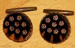USSR Russia Soviet Brass Cufflinks