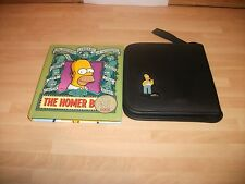 The Simpsons 16 CD/DVD wallet with Homer Book