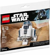 LEGO 30611 R2-D2 Minifigure Star Wars Promotional SEALED Polybag